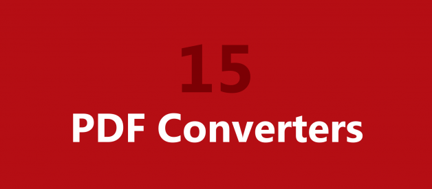 15 Best Free PDF Converter Tools for 2020