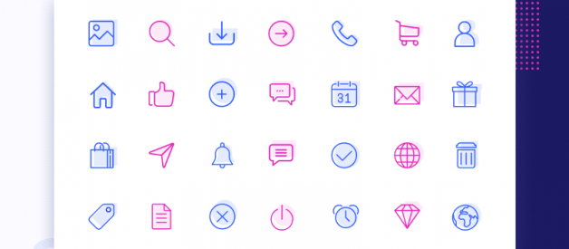 20+ Best ICON Packs for Web Developers and Designers