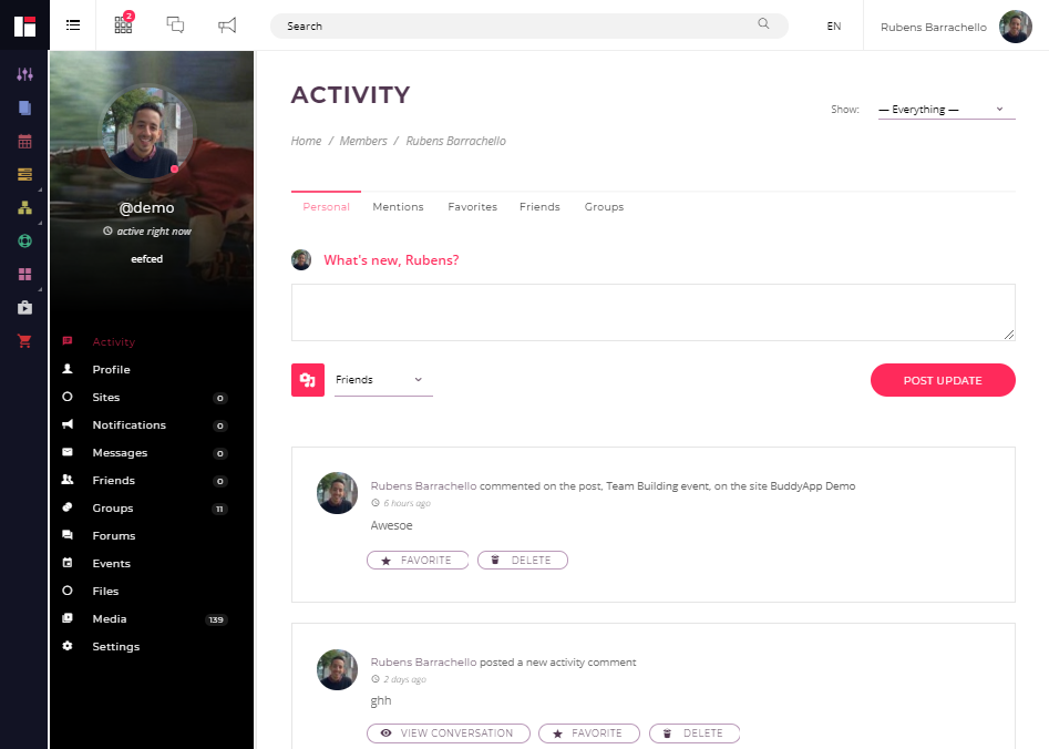 BUDDYAPP-COMMUNITY FORUM WEB TEMPLATES