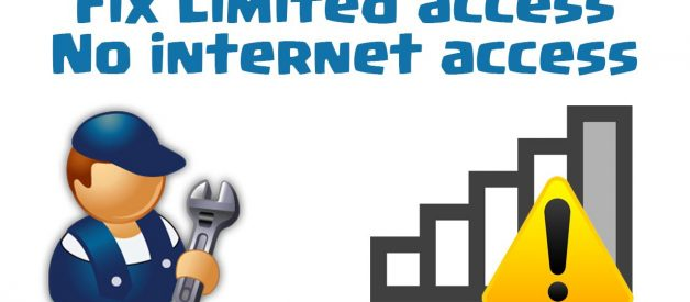 4 ways to fix the issue of Limited Internet Access