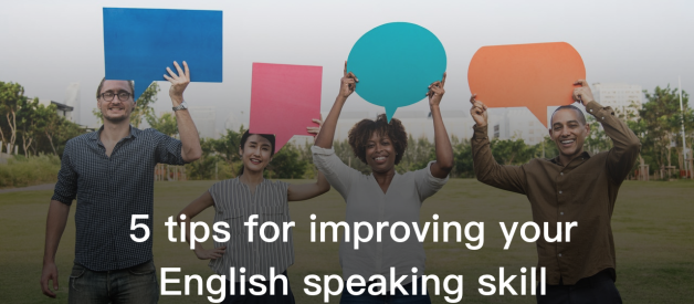 5 tips for improving your English speaking skills
