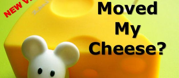 6 lessons on change from Who Moved My Cheese by Dr Spencer Johnson