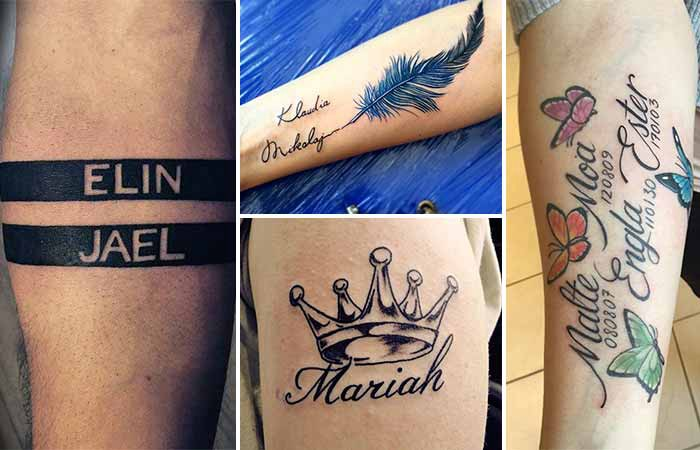 60+ Name Tattoos to Make Your Decision Easier