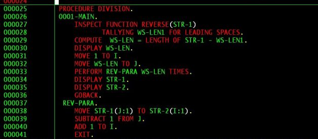 7 cobol examples with explanations.