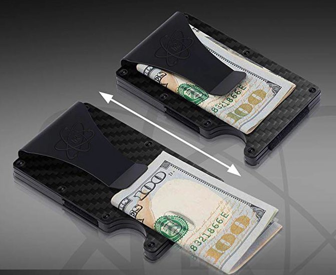 Rossm carbon fiber wallet. Ridge wallet alternatives.