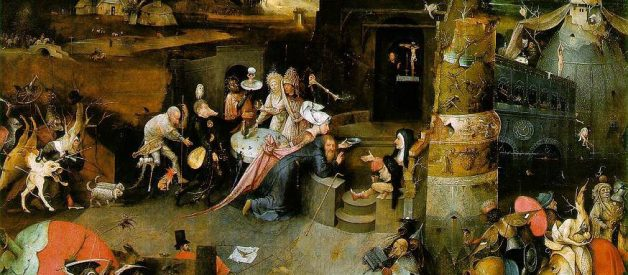 A journey through heaven & hell with Hieronymus Bosch.