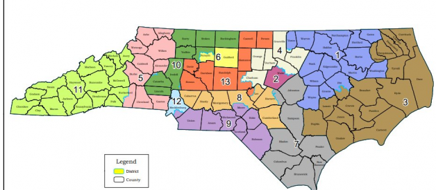 Analyzing the new North Carolina map from a nonpartisan perspective