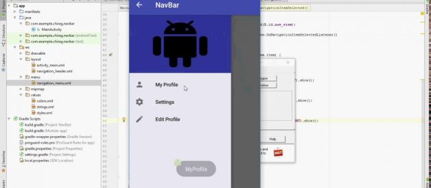 Android: Navigation Drawer