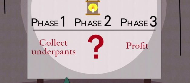 "Answering The Much Hyped ""Phase 2"" of South Park – ""Underpants Gnomes Profit Plan"""