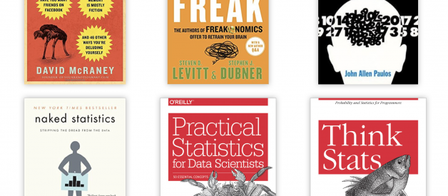 Aspiring Data Scientists! Start to learn Statistics with these 6 books!