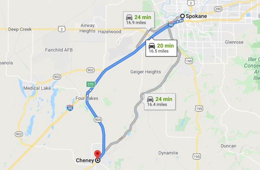 A credit card belonging to Deanne Hastings was used in Cheney, Washington, about 15 miles from where her car was parked.
