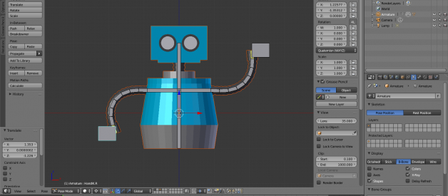 Beginner Blender: Armatures & Rigging