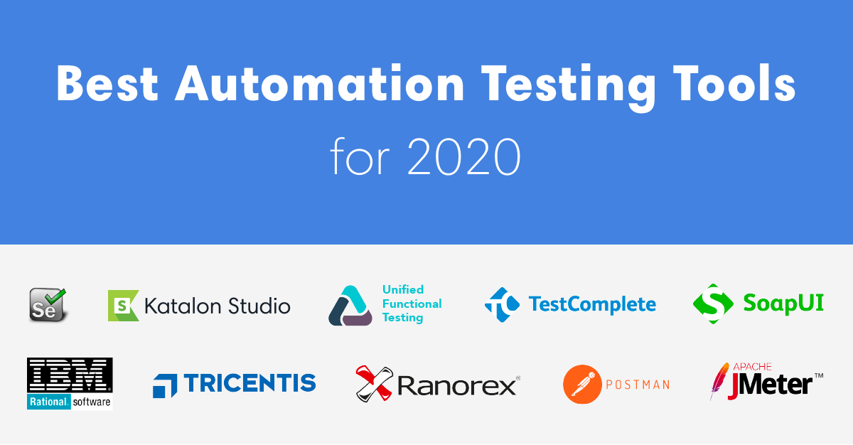 Best Automation Testing Tools for 2020