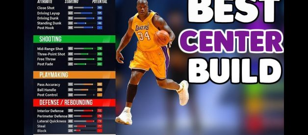 Best Center Build in NBA 2K20