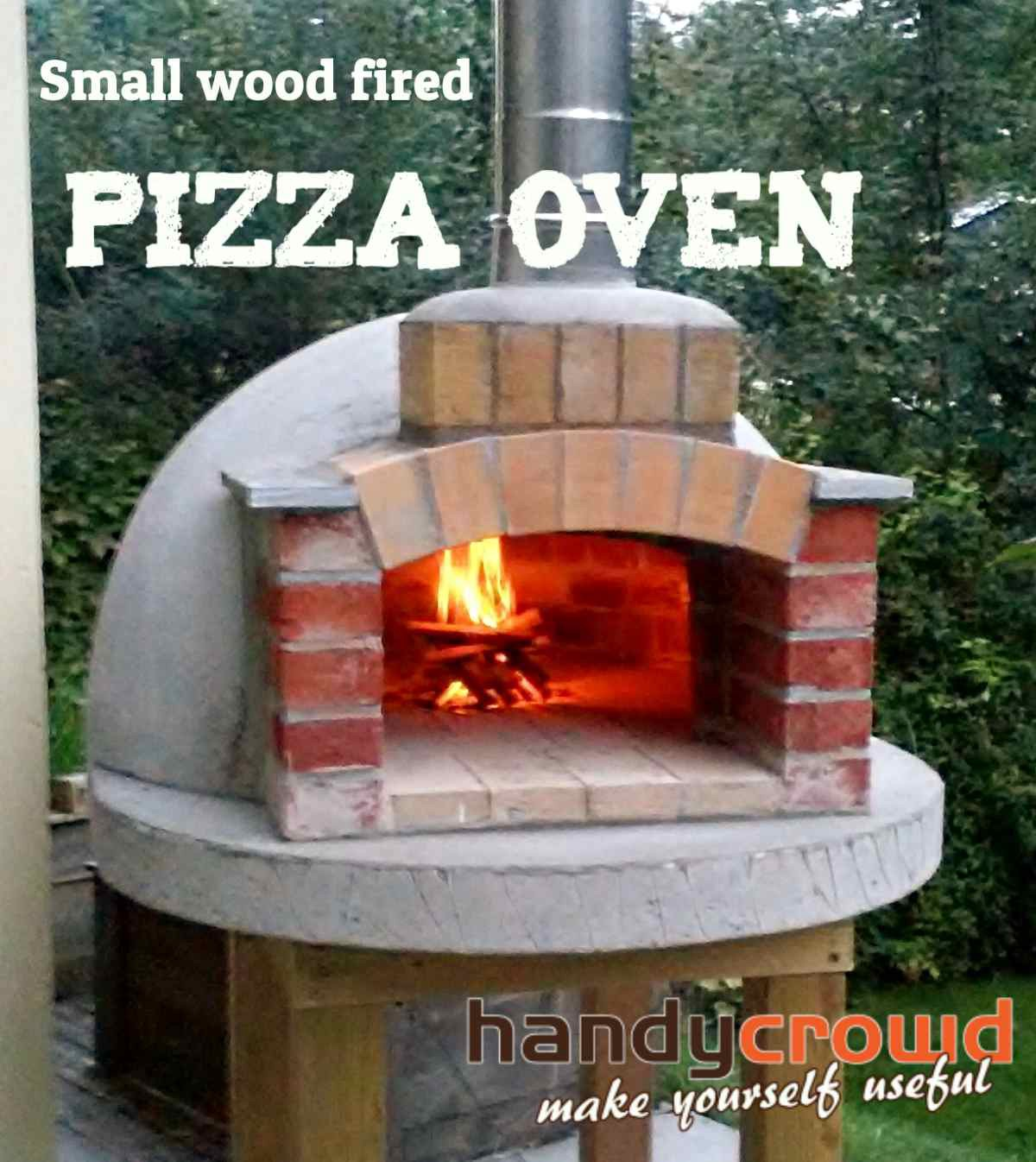 small wood fired pizza oven