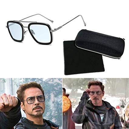6 versions of Tony Stark sunglasses edit avengers iron man