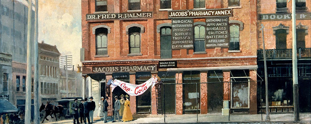 Jacobs? Pharmacy the first place Coca-Cola Went on sale in 1886