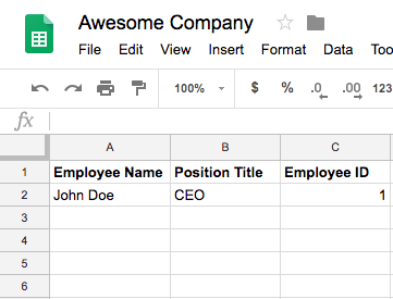 Create Functional Buttons in Google Sheets