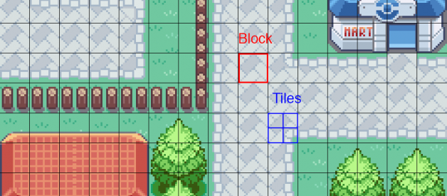Creating a game-size world map of Pokémon Fire Red