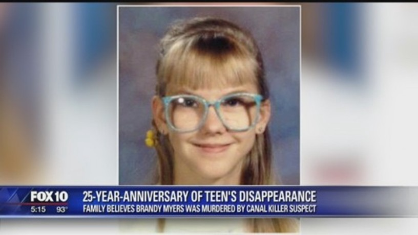 Brandy Myers vanished in 1992 from North Phoenix. Family believes she was the victim of the Miller.