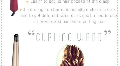 Curling Iron Vs Curling Wand — Which is better