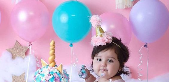 Cute Smash Cake Ideas For Baby Girl