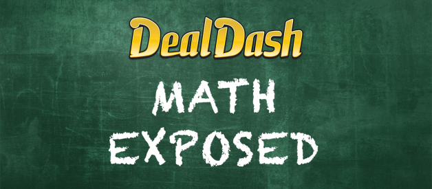 DealDash Math EXPOSED — they paid HOW much more FOR THE BIDS?