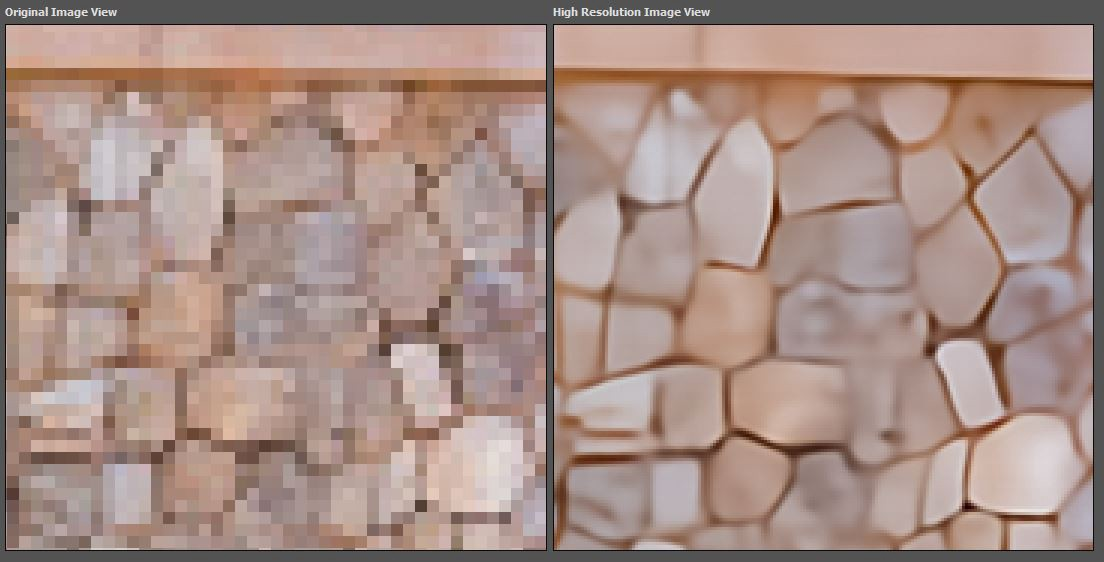 how to depixelate an image without photoshop