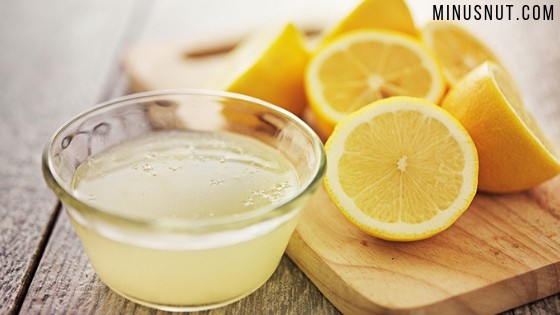 lemon juice beauty marks