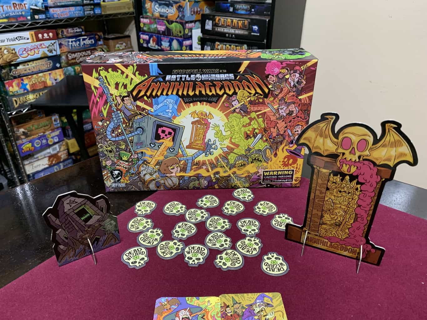 Epic Spell Wars of the Battle Wizards: ANNIHILAGEDDON Deck-Building Game - Cryptozoic Entertainment - Review 2