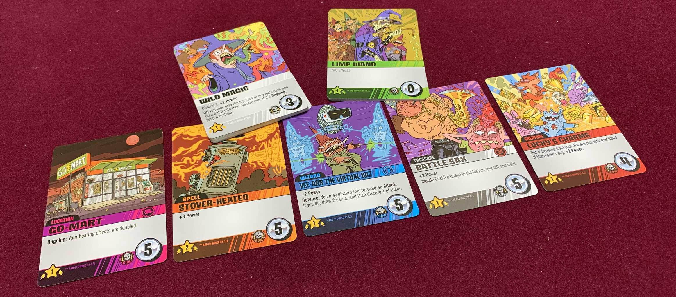 Epic Spell Wars of the Battle Wizards: ANNIHILAGEDDON Deck-Building Game - Cryptozoic Entertainment - Review 11