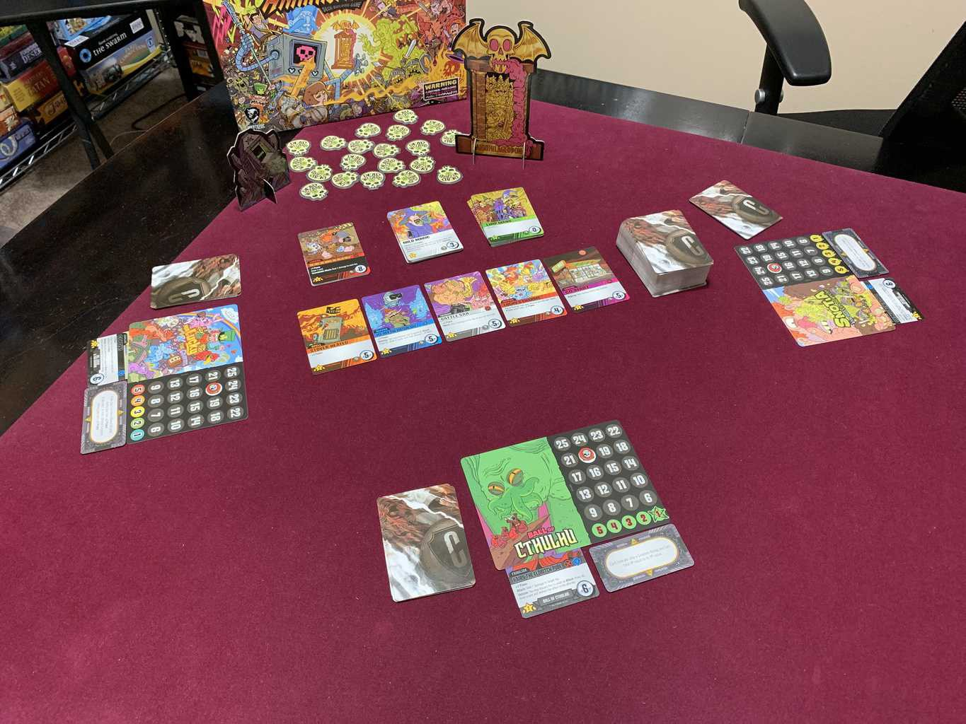 Epic Spell Wars of the Battle Wizards: ANNIHILAGEDDON Deck-Building Game - Cryptozoic Entertainment - Review 3