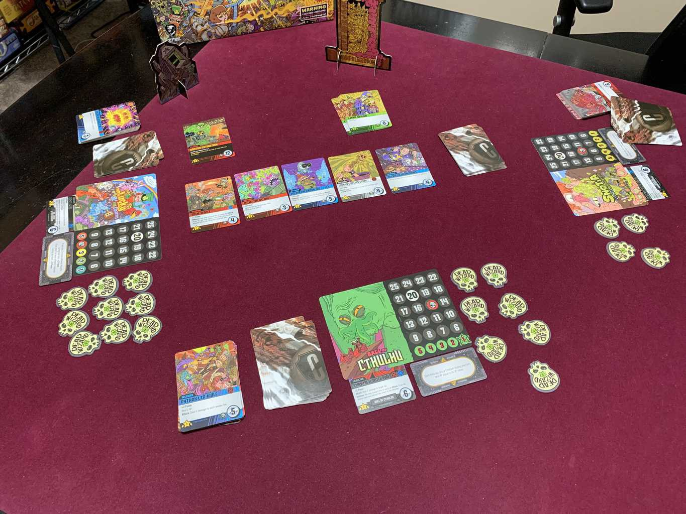 Epic Spell Wars of the Battle Wizards: ANNIHILAGEDDON Deck-Building Game - Cryptozoic Entertainment - Review 4
