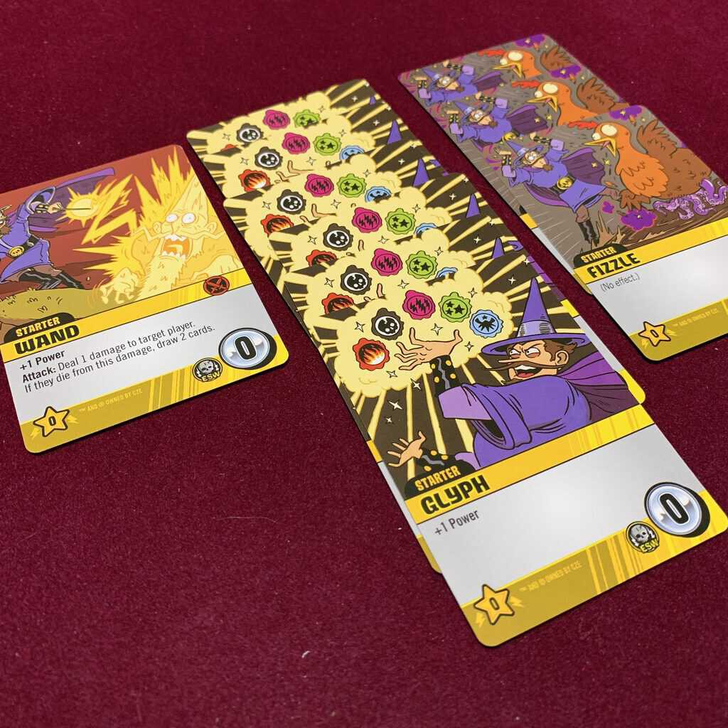 Epic Spell Wars of the Battle Wizards: ANNIHILAGEDDON Deck-Building Game - Cryptozoic Entertainment - Review 5