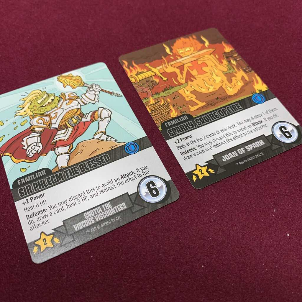 Epic Spell Wars of the Battle Wizards: ANNIHILAGEDDON Deck-Building Game - Cryptozoic Entertainment - Review 7