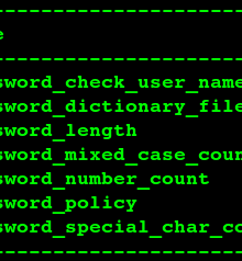 ERROR 1819 (HY000): Your password does not satisfy the current policy requirements