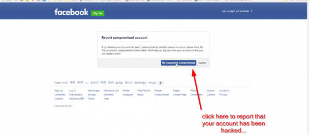 Facebook account recovery guide for Hacked or Forgotten 1 (888)331- 6933