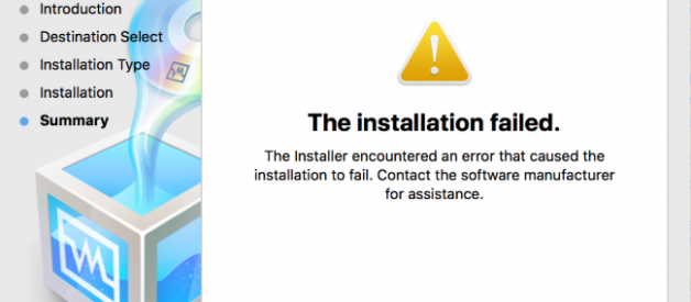 Fixing 'The Installation Failed' VirtualBox Error on Mac High Sierra
