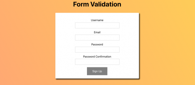 Form Validation in React (2019)