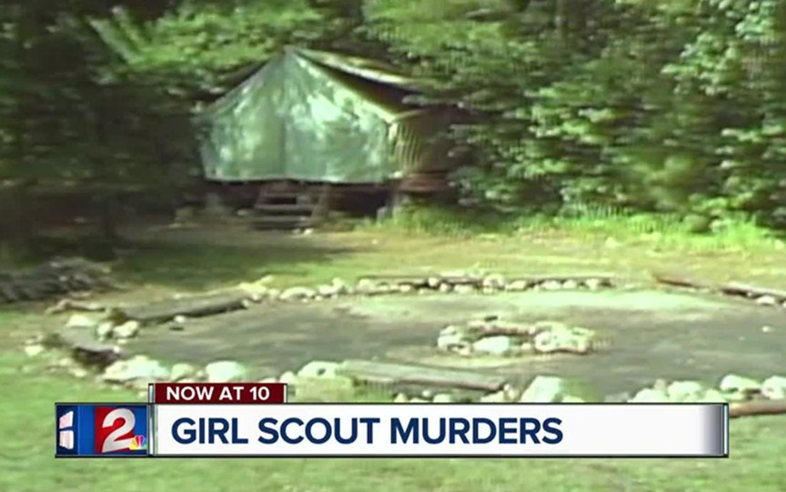 June 14, 1977, parents were horrified to hear there was three brutal murders of Girl Scouts at Camp Scott outside of Tulsa.