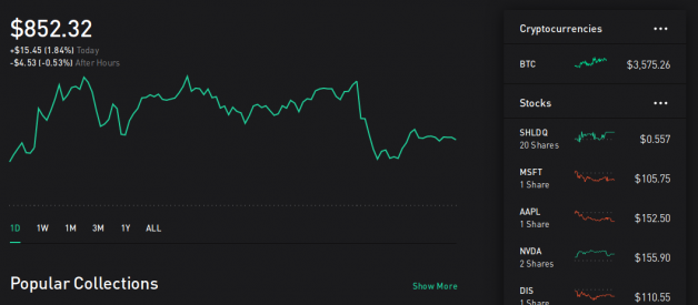 Here's what happened when I gave control of my Robinhood account to an AI for a week