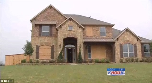 Wrecked: This $500,000 vacant Texas home was found in shambles after a group of teens shocked its owners by throwing a party