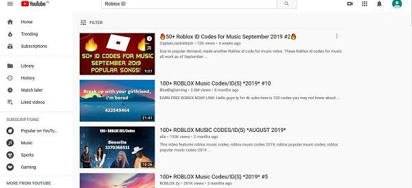 How get the updated Roblox Music codes & Song Ids for the latest and your favourite songs?