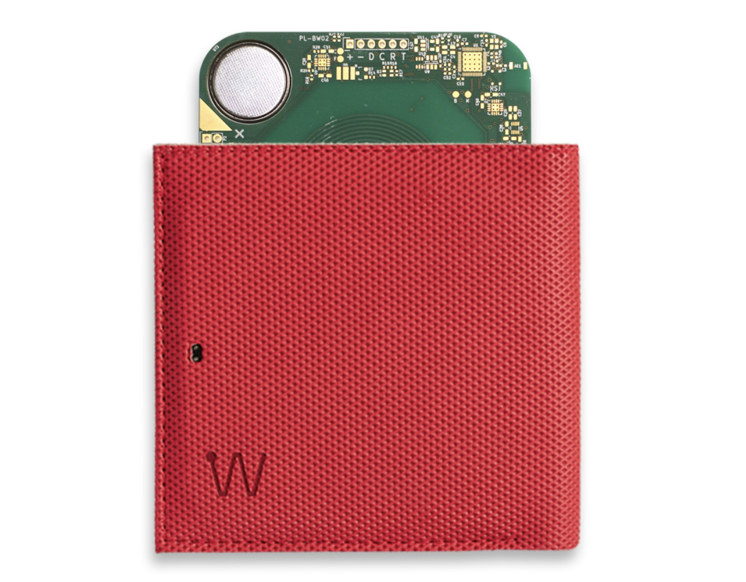 Baggizmo Wiseward wallet. Smart wallets with GPS tracking.