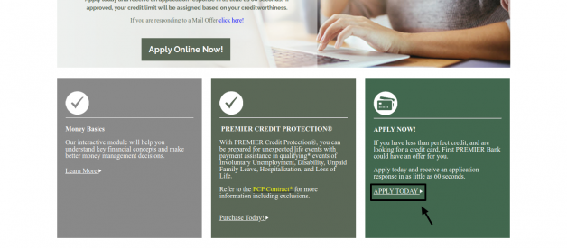 How to Apply First Premier Bank Credit Card Online?