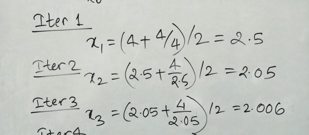 How to Calculate the Square Root of a Number? — Newton-Raphson Method