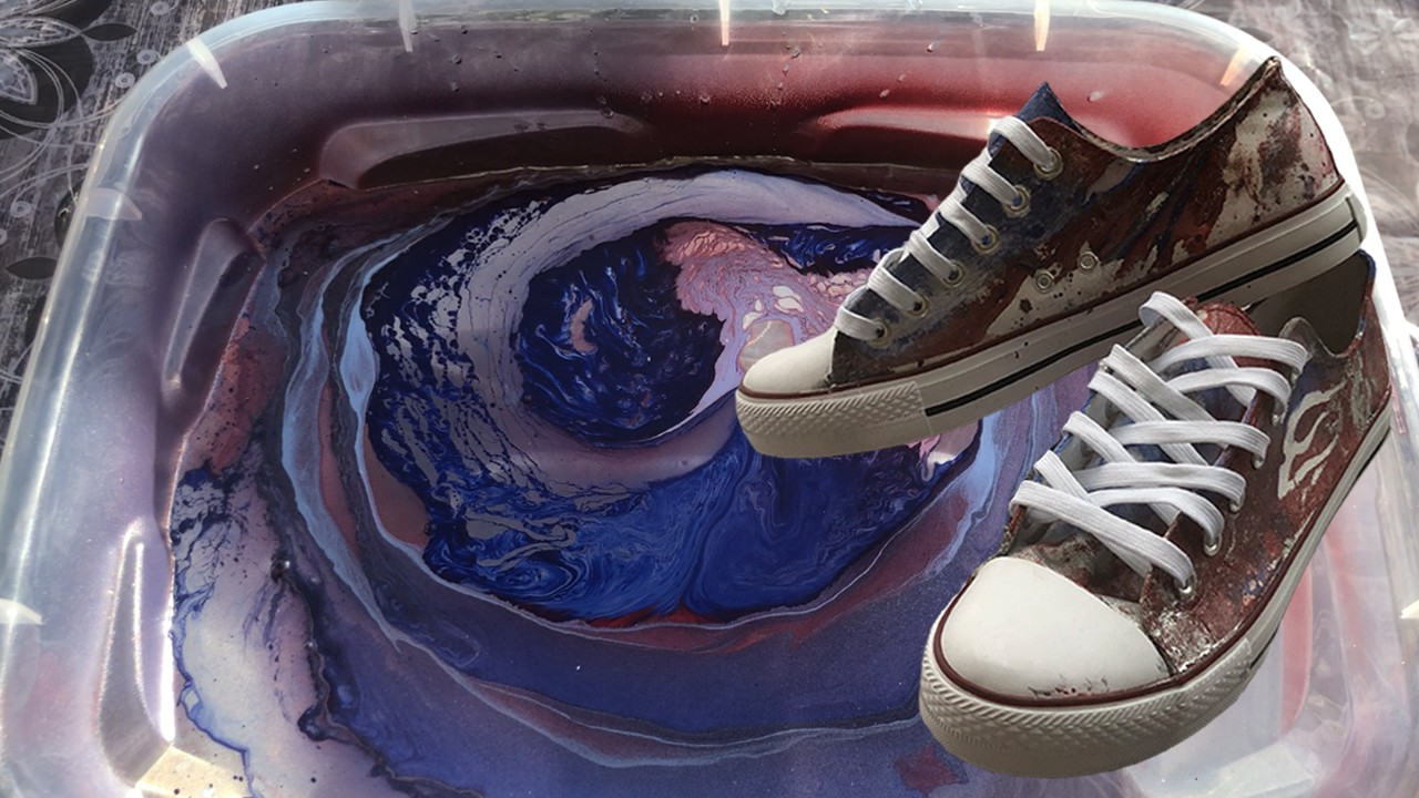 Shoes Hydro Dipping