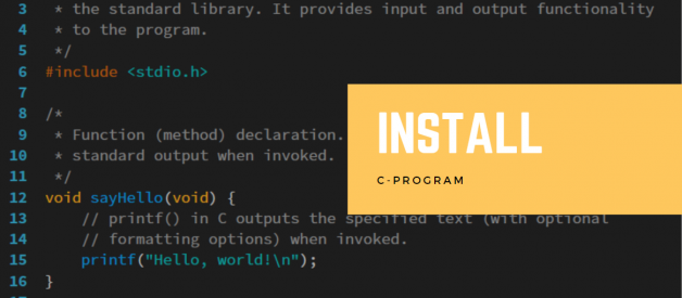 How To Easily Install The C-Programming Language On Windows