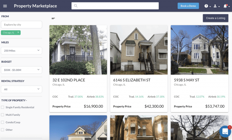 Find Off Market Properties in the Mashvisor Property Marketplace