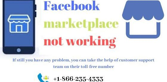 How to fix Facebook marketplace not working?